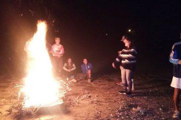 Compartimos fotos del campamento y de la …