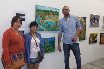 En la Bienal de arte