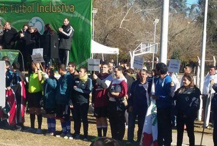 Comenzó la Liga inclusiva de futbol