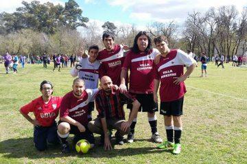 Día de fútbol en Gral Rodríguez