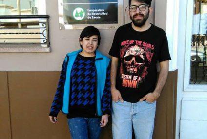 Felicitamos a Debora y Elias que hace un mes …