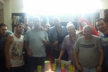 Festejando los 40 de Federico » el tanque «