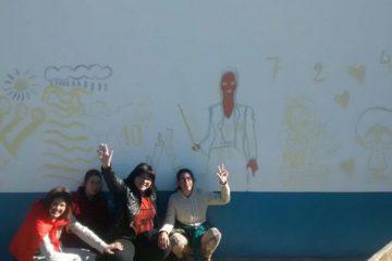 Comenzamos a trabajar en un nuevo mural en el …