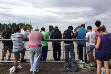 Salida de pesca en Martinez y Escobar