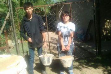 Trabajando en la comunidad,  …