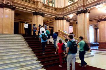Sede Martínez, visitamos el teatro Colon